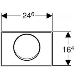 Geberit Mambo - przycisk uruchamiający przedni do spłuczek UP300/UP320
