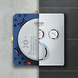 Grohe Rapido SmartBox - uniwersalny element podtynkowy do SmartControl