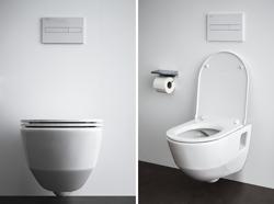 Laufen PRO A Rimless - miska WC podwieszana, bezrantowa + deska wolnoopadająca cienka